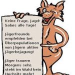 Anti-Jagd-Fuchs